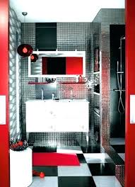 red and gray bathroom black and gray bathroom sets red and grey rh benedictkiely info