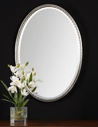 Bathroom Mirrors Small Oval Bathroom Mirrors Decorating Idea