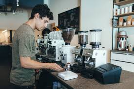 Shop the top 25 most popular 1 at the best prices! Silhouette Of Barista Preparing Coffee In A Coffee Bar Ocaf00313 Oriol Castello Arroyo Westend61