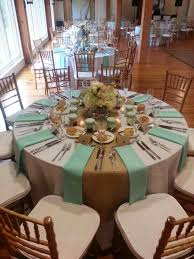 elegant wedding decoration ideas with round table sets and