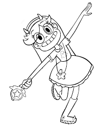 Small Picture Star vs the Forces of Evil coloring pages to download and print