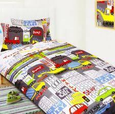 Road Works Ahead Diggers Green Blue Kids Childrens Boys Single Bed ... & Road Works Ahead Diggers Green Blue Kids Childrens Boys Single Bed Size Duvet  Cover Quilt Set by Sold By Hallways, http://www.amazon.co.uk/dp/B008D… Adamdwight.com