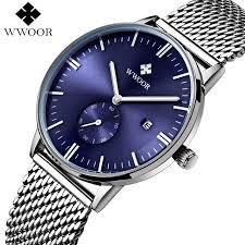 Online Shop <b>Men</b> Watches <b>Top Brand WWOOR</b> Date Clock <b>Male</b> ...
