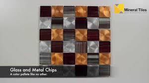 aluminum glass tile copper blend 2x2 200ker1825
