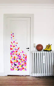 bedroom door decorations. Wonderful Bedroom Temporary Door Decoration  37 DIY Washi Tape Decorating Projects You Will  Love Throughout Bedroom Door Decorations Pinterest