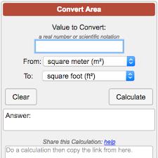Area Conversion Calculator