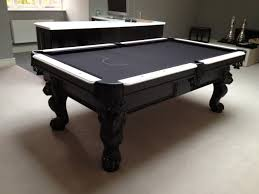 billiards black and white. Click To Zoom Olhausen St George In Black / White Finish Billiards And R