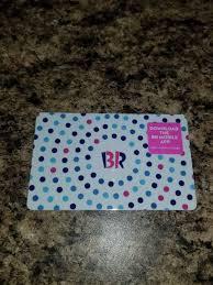 baskin robbins gift card 10 1 of 1