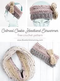 Ear Warmer Crochet Pattern Amazing Oatmeal Cookie Headband Earwarmer Free Crochet Pattern The