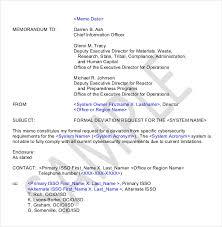 10+ Formal Memorandum Templates – Free Sample, Example, Format ...