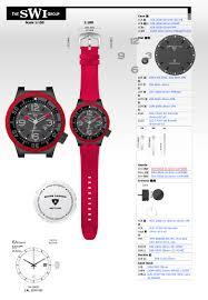 Industrial Design Watch Swi Watches Camay Creative Studio