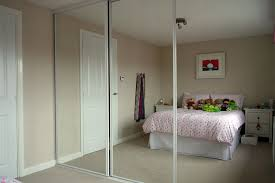 image of closet door installation mirror