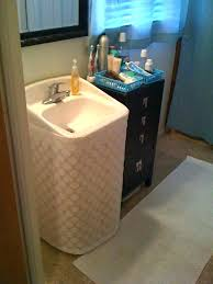 Ada Pedestal Sink Sink Pipe Cover Pedestal Sink Plumbing Hide Ugly Sink  With Visible Piping Not