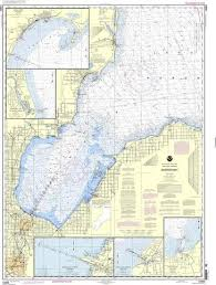 Tampa Bay Depth Chart 2018 Noaa Nautical Chart 14863 Saginaw Bay Port Austin Harbor Caseville Harbor Entrance To Au Sable River Sebewaing Harbor Tawas Harbor