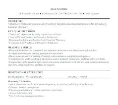 Supply Technician Resume Sample Captivating Technician Resume Sample ...