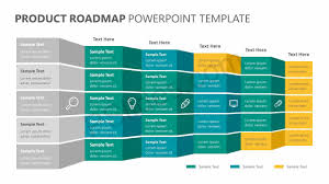 Road Map Powerpoint Product Roadmap Powerpoint Template Pslides