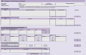 travel expense template useful ms excel and word templates for business owners
