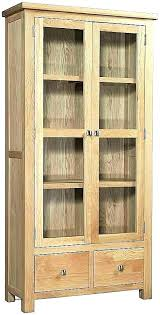 storage cabinet oak solid wood