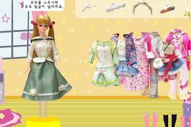 barbie doll dress up game