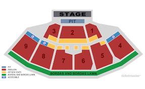 First Niagara Pavilion Seating Chart Keybank Pavilion Seating Chart With Seat Numbers Www