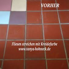 Fliesen Streichen Autentico Chalk Paint Kreidefarbe Und Fußbodenlack