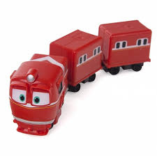 <b>Паровозик</b> Robot Trains – <b>Альф</b> с двумя вагонами от <b>Silverlit</b> ...