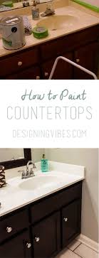 Painting Cultured Marble Sink How To Paint Cultured Marble Countertops Diy Tutorial