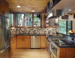 modern track lighting kitchen.  modern interior design modern minimalis track lights design in the kitchen  flexible monorail lighting neat lighting to kitchen