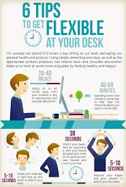 8 best exercises to do at your desk in office