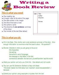 how to write a book report how to write a book review also many other pages on writing