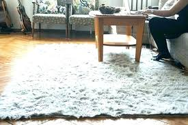 white fur area rug faux amusing perfect off rugs 8x10 r