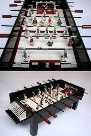 Miniature Wooden Foosball Table Game 100 Coolest Foosball Tables foosball tables Oddee 86