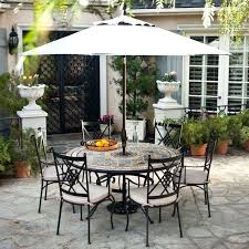 outdoor table and chairs with umbrella outdoor furniture with round patio table sets contemporary wrought