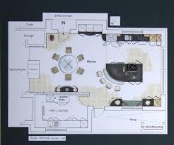 How To Design A Kitchen Floor Plan Kitchen Floor Plans Rendered Floor Plan Of The Kitchen