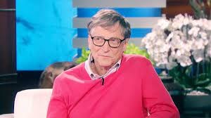 Ellen quizzed Bill Gates on the cost of groceries. He failed