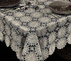 Crochet Tablecloth Pattern Fascinating 48 Easy Crochet Tablecloth Patterns