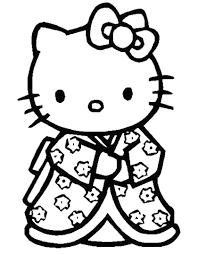 Disegno Di Hello Kitty Da Stampare E Colorare