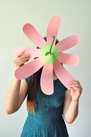 Paper Flower Hats Paper Flower Party Hats
