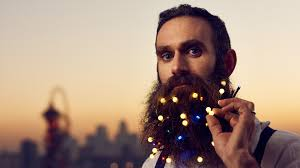Beard Lights You Can Now Get Christmas Lights Woven Into Your Beard To