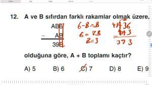60 Soruluk DGS Deneme Sınavı Soru ve Çözümleri - YouTube