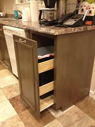 Kitchen cabinet trash can Swing Out Additional Photos Ana White Ana White Kitchen Trash Pull Out Cabinet Diy Projects
