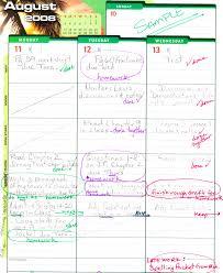 Sample Student Agenda ClassStudent Planner Hilder Pearson Elementary 1