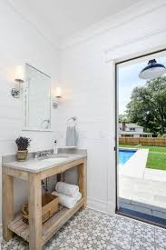 10 Tips: A Michigan Lake House by Linc Thelen. Small BathroomPool House  BathroomOutdoor ...