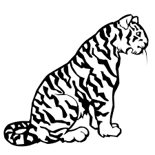 Small Picture Tiger coloring page Animals Town animals color sheet Tiger
