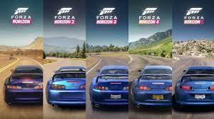 Forza Horizon 5 - Sound Comparison - YouTube