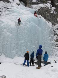 the six on the ice climbing trip may have to wait until the u of c s summer backcountry trips for teens but at least there s something for them