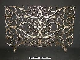 wrought iron fireplace screens wrought iron fireplace screen wrought iron fireplace screens decorative
