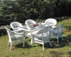best of white wicker outdoor dining sets best ideas about white wicker furniture on white