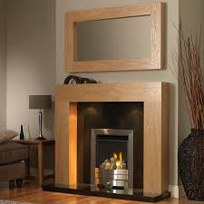 gb mantels windsor clear oak fireplace suite