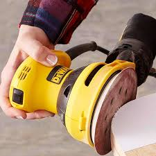 power sanding with a random orbit sander